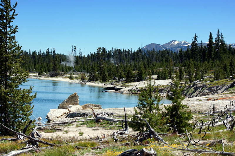 Photo By Bob Bodnar...............................................Phantom Lake, Yellowstone National Park