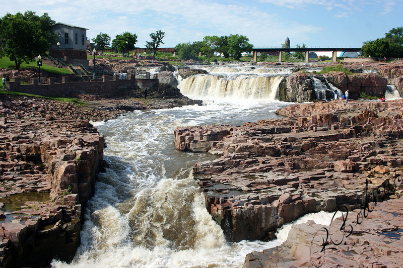 Photo By Bob Bodnar.....................................Falls in Sioux Falls South Dakota
