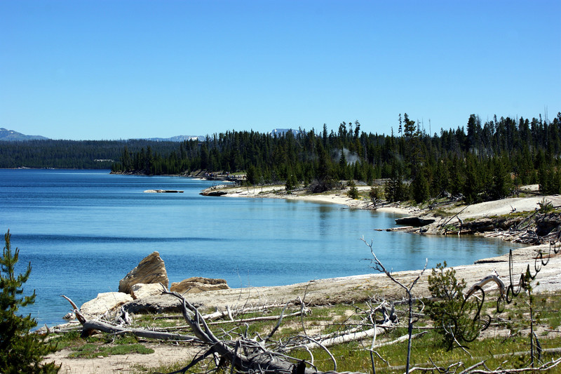 Photo By Bob Bodnar...............................Phantom Lake, Yellowstone National Park