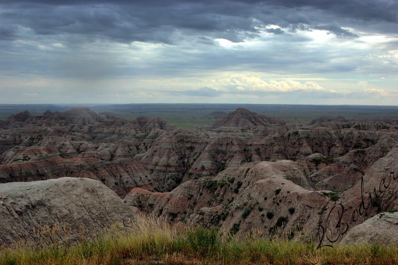 Photo By Bob Bodnar.............................................................Badlands National Park