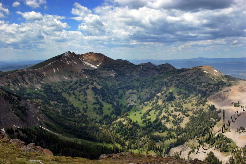 Photo By Bob Bodnar.....  .........View of Mt. Jefferson & Valley from Sawtelle Mountain Peak