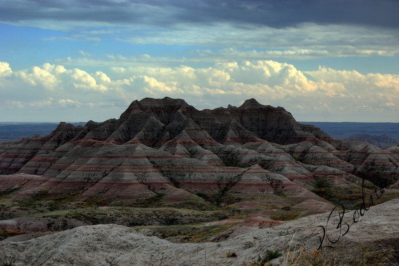 Photo By Bob Bodnar.....................................................Badlands National Park