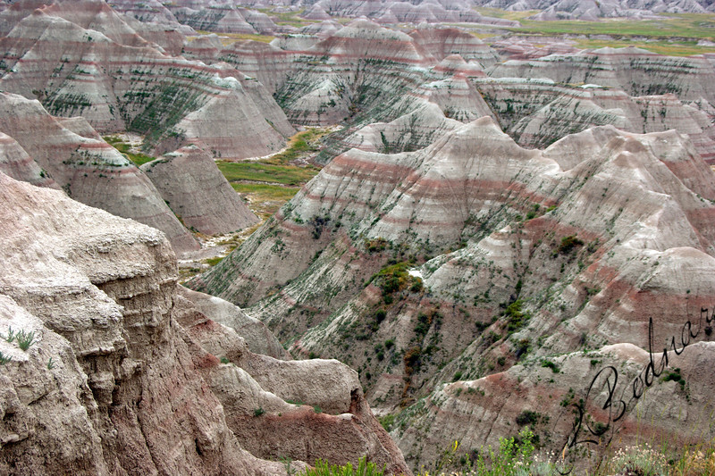 Photo By Bob Bodnar............................................Badlands National Park, South Dakota