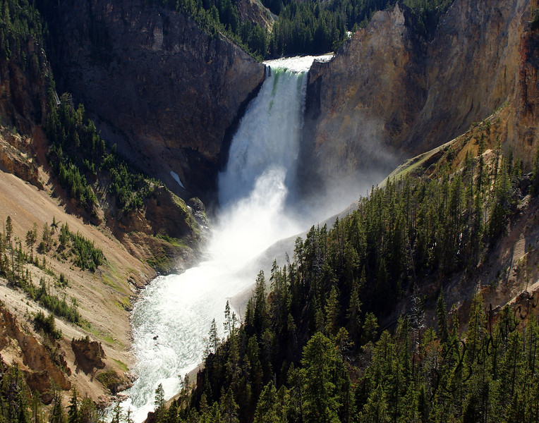 Photo By Bob Bodnar............................Lower Falls in Yellowstone National Park