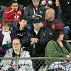 Montachusett Regional Vocational Technical School played Nashoba Valley Technical High School on Wednesday, Nov. 27, 2019 during their Thanksgiving Eve game in Fitchburg. Mnonty Tech fans take in the game. SENTINEL & ENTERPRISE/JOHN LOVE