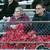 Montachusett Regional Vocational Technical School played Nashoba Valley Technical High School on Wednesday, Nov. 27, 2019 during their Thanksgiving Eve game in Fitchburg. Monty Tech fans try and stay warm. SENTINEL & ENTERPRISE/JOHN LOVE