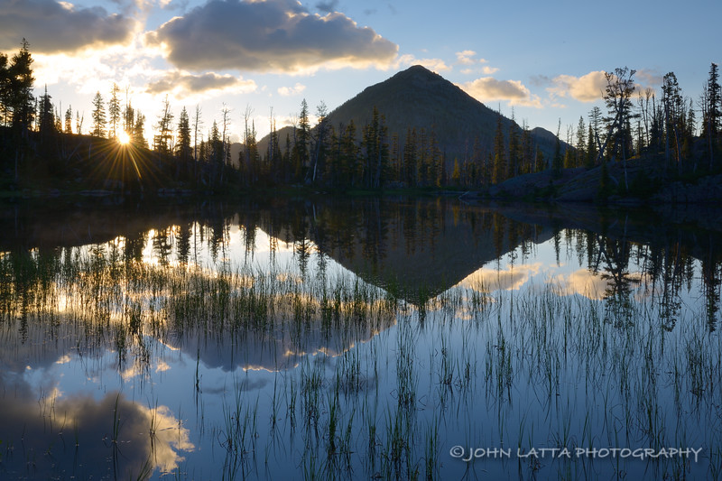 Sunrise at Sapphire Lake