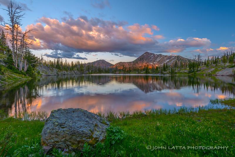 Sapphire Lake Sunset