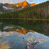 Johnson Lake and East Pintler Peak
