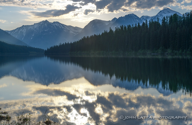 Logging Lake Early Morning
