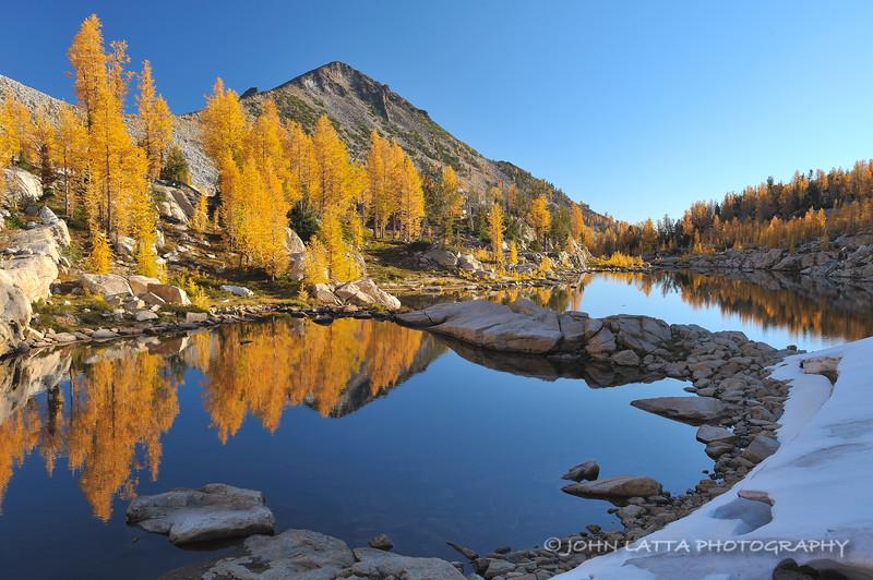 Tarns Reflecting Autumn