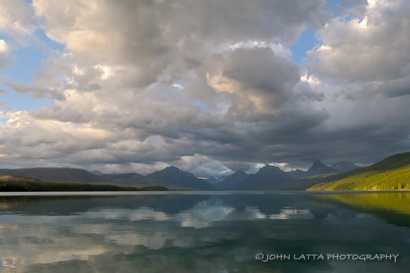 Clouds Over Lake McDonald