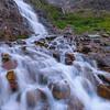 Waterfalls Below Gunsight Pass