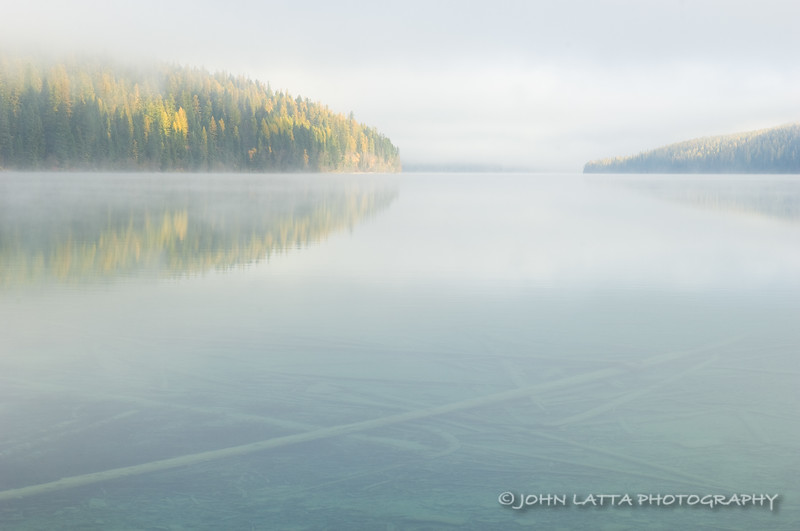 Foggy Bowman Lake