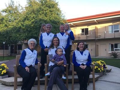GNO! — with Peggy Cannon Hufford, Veva Shugert, Dotty Bridgford, Julie Starkey, Pam Dearinger, Debbie L. Salisbury Smith, Margaret VanderVeen and Deidra Wilson Reed at Pudder's.
