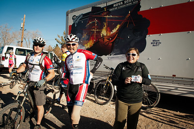 Ride2Recovery's 2013 season kicked off with 50 riders participating in the 2nd annual Mountain Bike Challenge in Las Vegas. Photo by Tiffini M. Skuce/Ride2Recovery