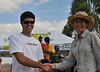 L: Adam Leonardi (DH Coordinator for Rockwheelers), R: Gillian Duncan - President MTBA Australia
