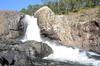 Small Falls before the top of the main Wallaman Falls