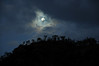 Moon rising over the hills of Douglas, Townsville