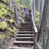 The TCT was a bit tricky on bikes with all the stairs
