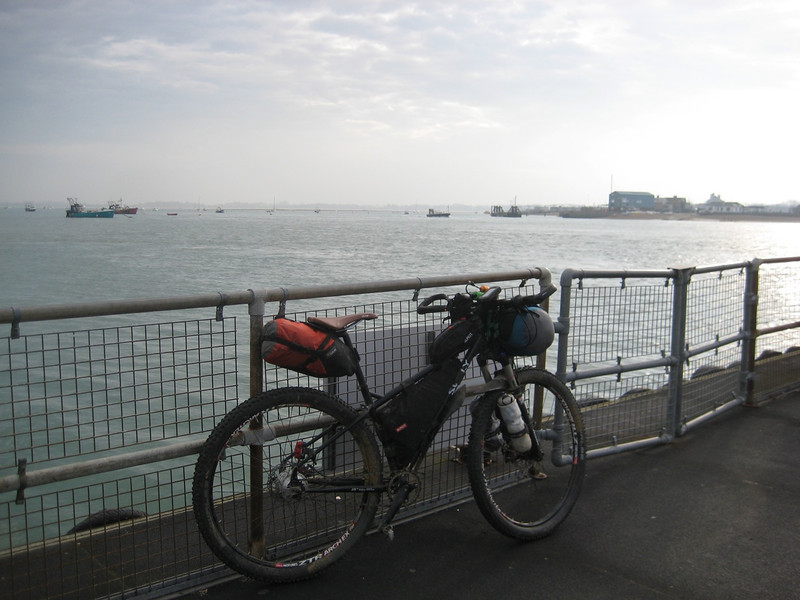 Waiting for Hayling Ferry