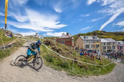 Aberdare MTB rider takes on Aber DH