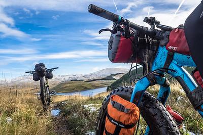 Bike packing adventure in Mid Wales