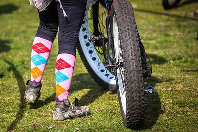 Fat Bikes and cool socks.