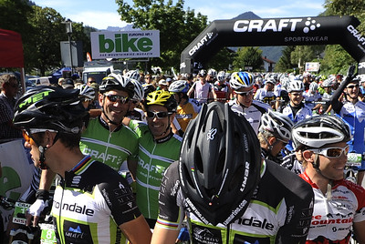 Stage 1 of 14th CRAFT BIKE TRANSALP powered by NISSAN from Mittenwald (GER) to Weerberg (AUT); 95.55 km and 2,366 meters in Asc