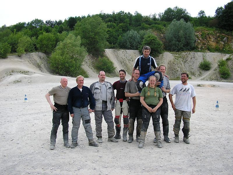 Our group (1):<br /> Arwin, Harm, Frank, Lothar, Gerke, Manfred, Rosanne, Jan and me ..