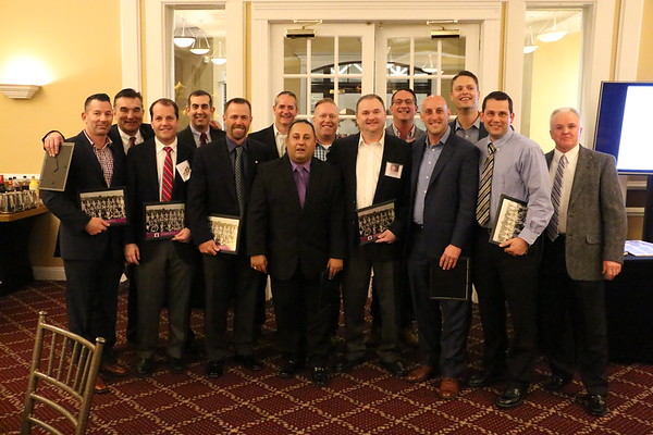 Inaugural Hall of Fame Dinner at Knob Hill, March 25, 2017