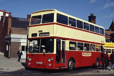 MTL 1823 St Helens Bus Stn Mar 94
