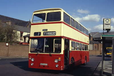 MTL 1825 St Helens Bus Stn 2 Mar 94