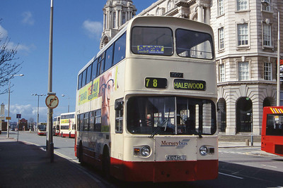MTL 1027 Pier Head Liverpool Apr 99