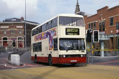 Arriva Merseyside 2612 Hood St Liverpool Jun 00