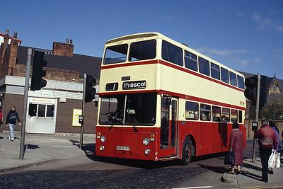 MTL 1825 St Helens Bus Stn 1 Mar 94