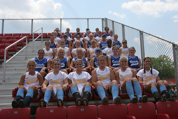 2006 TN vs KY Team & Group Photos