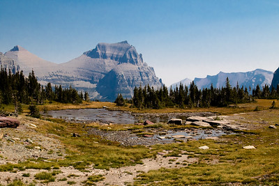 Glacier NP, Logan Pass, Hidden Lakes Trail