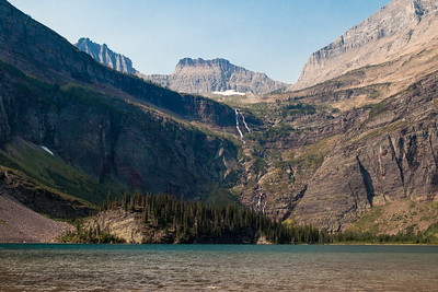 Glacier NP,  Many Glacier Area,  Lake Grinnel Trail