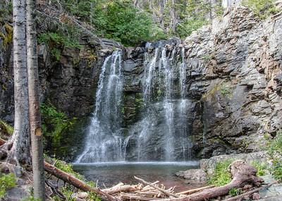 Glacier NP, Two Medicine Area, Two Medicine Pass Trail, Rockwell Falls