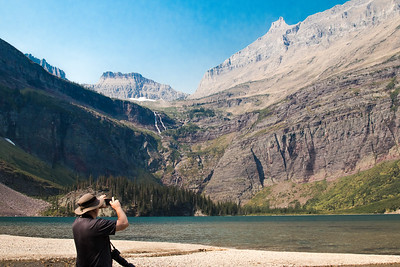 Glacier NP,  Many Glacier Area,  Lake Grinnel Trail  - Curt