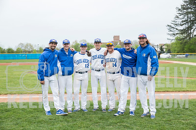 Madonna Baseball Senior Day 2017