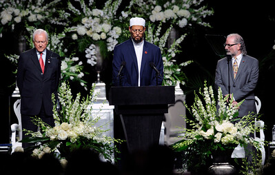 MUHAMMAD ALI MEMORIAL WAS HELD AT THE YUM CENTER IN LOUISVILLE KENTUCKY ON JUNE 10, 2016 PHOTOS BY VALERIE GOODLOE