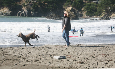 MUIR BEACH DOGS 0044