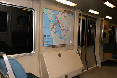 BART - Map   SF BAy Area