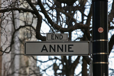 The END of Annie Street