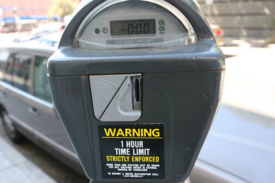 Berkeley Parking Meter - Incompatible with Rain !
