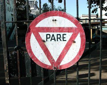 """""""Stop sign - Cuba"""""""