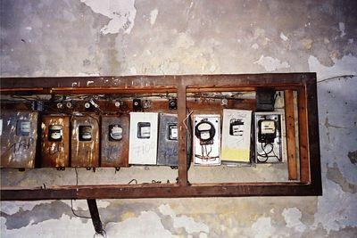 CUBA - Electrical Meters in Havana - Medidores de Energia Electrica en Havana.