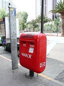 Mail Box in Mexico - Buzon Mejicano.
